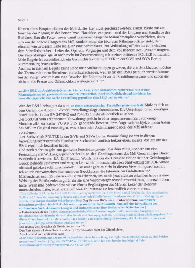 Gespräch mit einem der Gutachter  - Steffen Alisch: Welche Empfehlung  aus Ihrem Gutachten wurde  befolgt !? - Jahn hatte versucht die Hauptamtlichen zu versetzen.