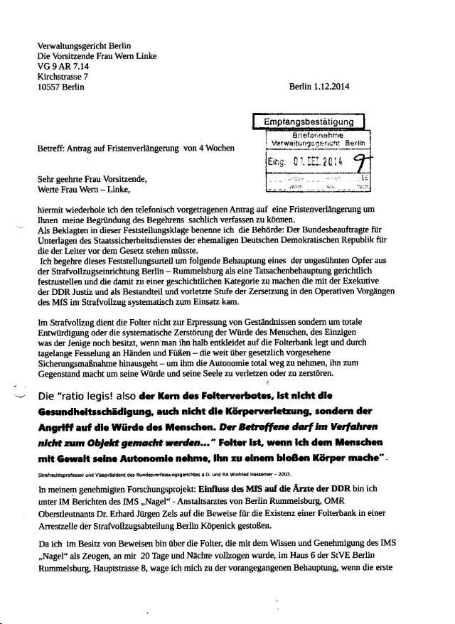 STASIJUSTIZ-Exekutive Folterte in den Zuchthäusern der DDR