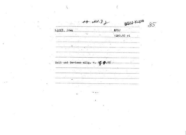 Verstehe wer kann. 15.9.82 als Verhaftungsdatum ist FALSCH - manipuliert.