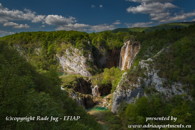 All Photos are made by EFIAP Excellent of Photography - Castlephotographer of the Black Quinn of 16 Plitvice Lakes and over 90 most beautifull Waterfalls in the World. Mister Rade Jug was born there and grown up in this paradise on Earth.