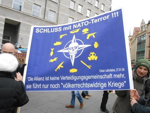Auch NATO wird seinen Zerfall erleben, wie alle Zwangsalianzen bis hier her !