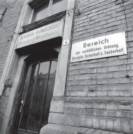 Spezielle Strafvollzugsabteilung Waldheim