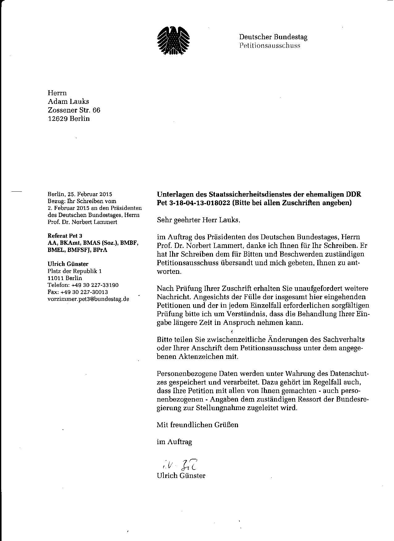 Offener Brief An Den Professor Dr Ulrich Sieber Den Direktor Des