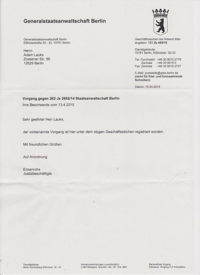Seit HEUTE 20.04.15 ermittelt Generalstaatsanwalt wegen Korruptionsverdacht gegen Oberamtsrat Wolfgang Dierig aus dem Petitionsausschuss es Deutschen Bundestages ( 2013 )