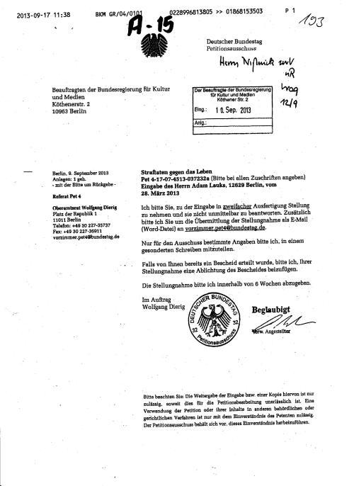 Befehl-Bitte-Auftrag an die BStU mittels  BKM damit es nicht auffällt 001