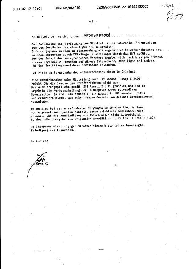 Fax des BKM an die BStU-Teile 003