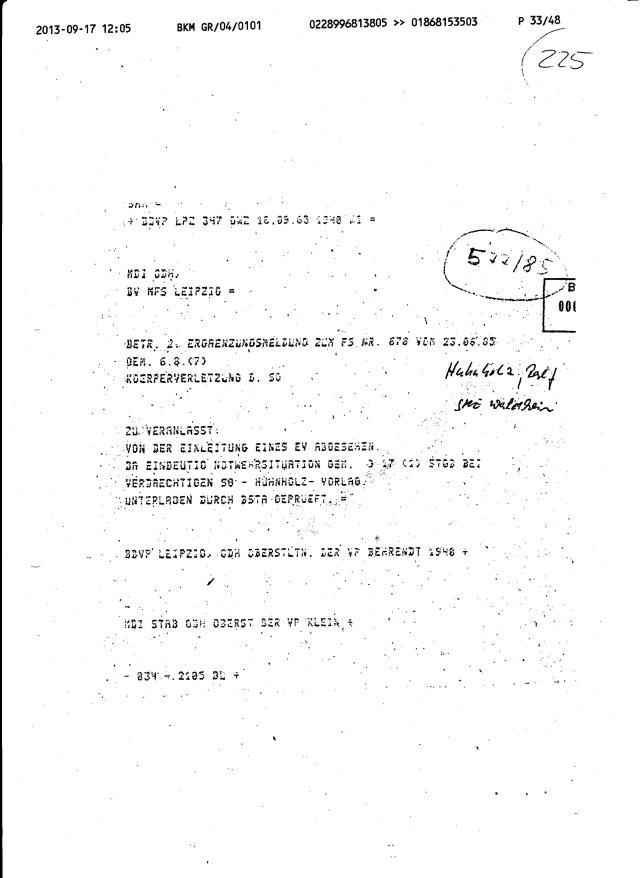 Fax des BKM an die BStU-Teile 011