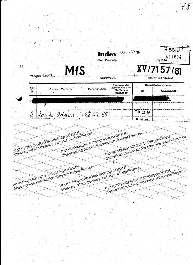 Die HA IX wurde bei der Verhaftung von Niko Sandro und Angelov Todor hinzugerufen und lieferte schon am 4.9.1981 Anhaltspunkte für die Jagd auf