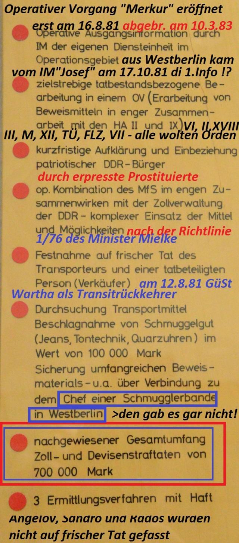 Die engsten Mitarbeiter von Minister Mielke die Stellvertreter Neiber und Mittig verarschten ihren Minister in Puncto Wirtschaftsdiversion gegen den Außenhandel der DDR bis Februar 1983