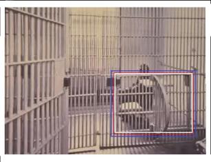 TIGERKÄFIG aus einer Arrestzelle in Zuchthaus Berlin-Rummelsburg verrottet mit einem weiteren aus Cottbus in Dr. Knabes Sammlungen in den Kellern der Gedenkstätte Berlin Hohenschönhausen.