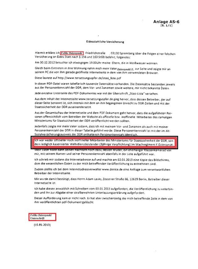 RA Helge_Bayer falsche eidesstattliche Versicherung