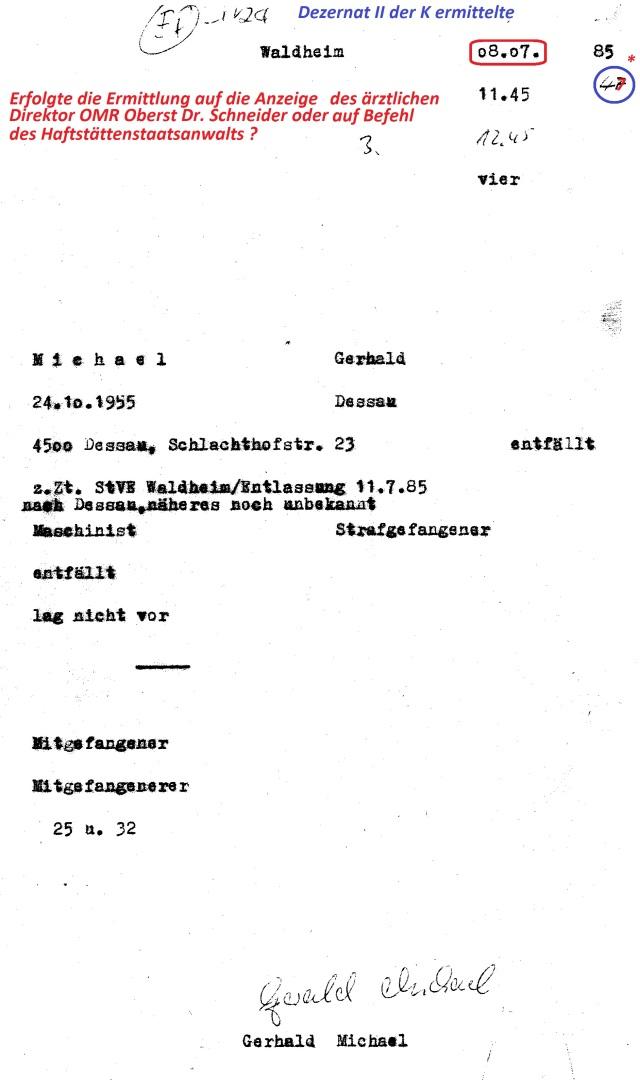 "HA VII/8 Dezernat K-2 ""ermittelt"""