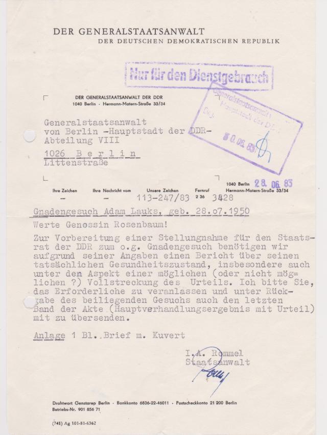 DDR Justiz war eine STASI-Justiz