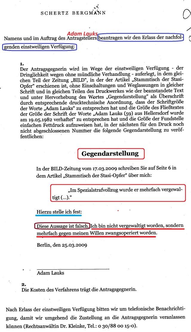 Lauks gegen SPRINGER AG (2)