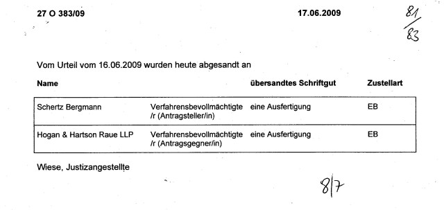 Widerspruch SPRINGER AG (53)