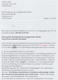 An die Präsidentin des Landgerichts Berlin 25.5.2018