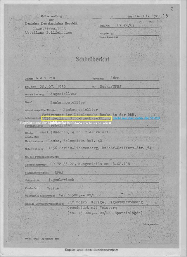"""OV """"Merkur"""" Schlußbericht HV 24/82"""