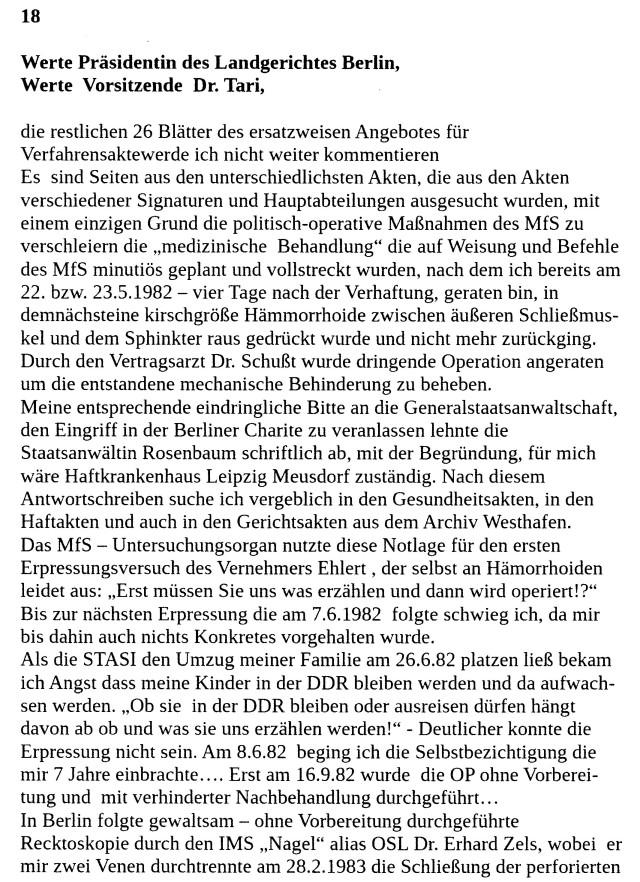 An die Präsidentin des LG Berlin 25.5.18