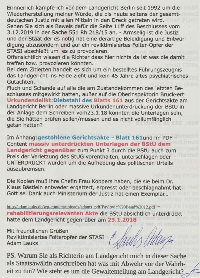 Weiße Folder in Deutschland