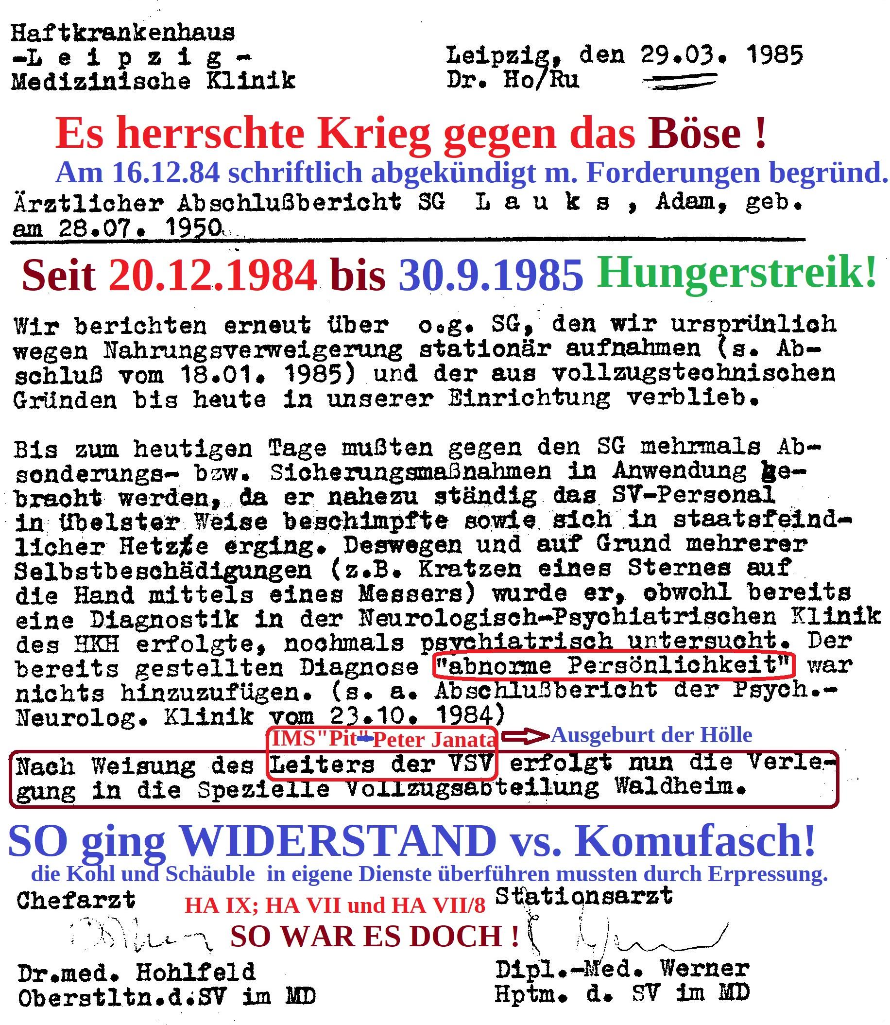 Abschlußbericht Leipzig Meusdorf